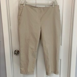 So Slimming by Chico's Tan Capris